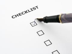 Dyno Checklist