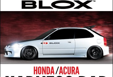BLOX Racing Harness Bar: Honda/Acura