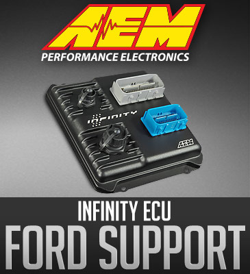 AEM Electronics Infinity Support: Ford 2V, 3V, 4V Modular Race Engines